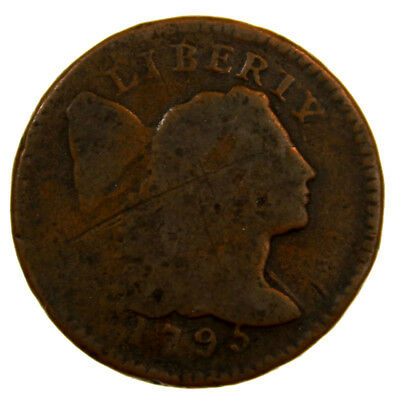 1795 1C Flowing Hair Large Cent Good