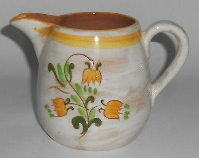 Stangl Pottery Yellow Tulip Terra Rose 4-5/8'' Pitcher