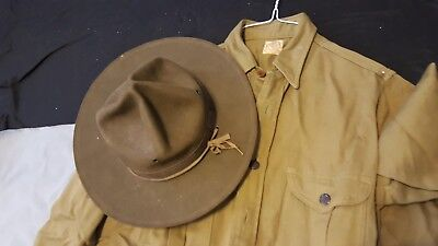1940's Boy Scout Shirt and hat