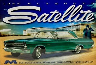 Moebius 1215  1965 Plymouth Satellite  model kit 1/25