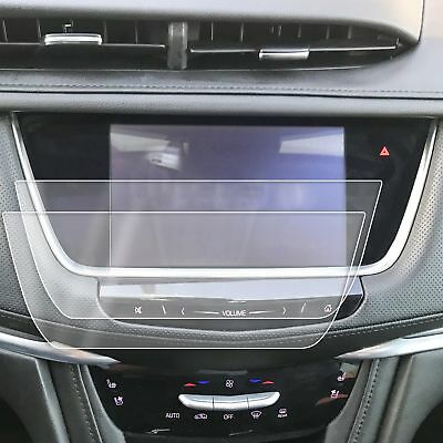 2) 2017-2018 Cadillac XT5 2pc Anti Scratch Touch Screen Saver Protector CUE 8""