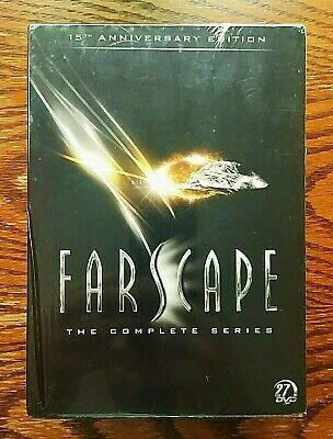 Farscape Complete Series DVD NEW Sealed 27 Disc Set US 15th Anniversary OOP