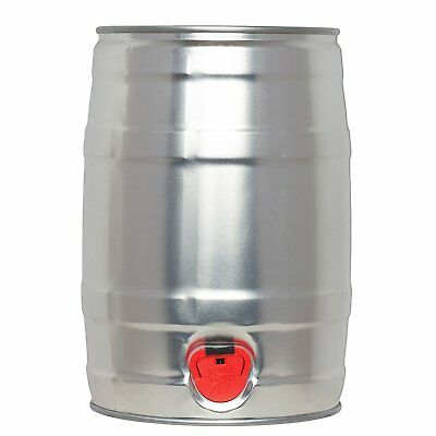 PicoBrew 5 Liter Capacity Home Brew Craft Beer Portable Aluminum Serving Keg