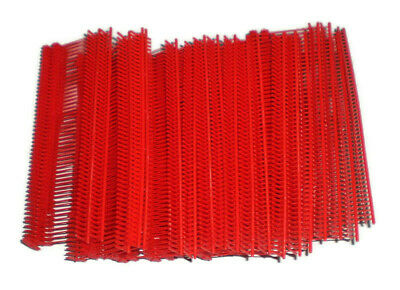 "1000 Red 1"" Clothing Garment Price Label Tagging Tagger Gun Barbs Fasterners"