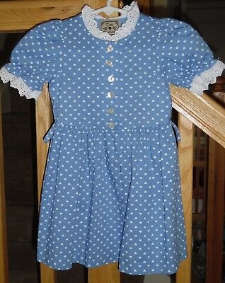 Dirndl Dress TURI Landhaus Cotton SZ 74/ 12 MonthsGerman Bavarian  Toddlers