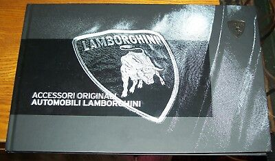 Lamborghini Accessori Originali Automobili Lamborghini Sales Catalogue Hardcover