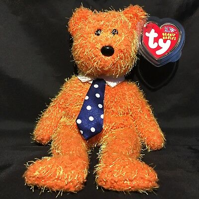 Beanbag Plush * TY Beanie Babies * Pappa * With Tag