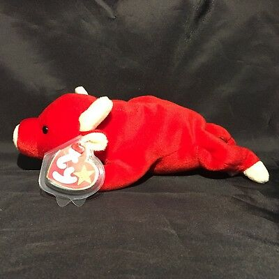 Beanbag Plush * TY Beanie Babies * Snort * With Tag