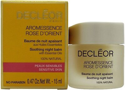 Decleor Aromessence Rose D'Orient Soothing Night Balm 15ml for NEW  BOXED