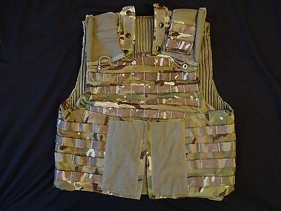 British Army OSPREY MK4 MTP Body Armour Cover / Molle Vest 190/108 - Grade 1
