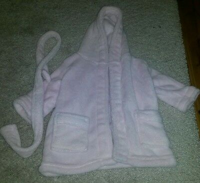 Soft touch girls pink dressing gown excellent condition