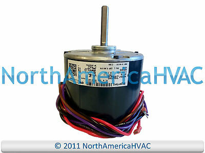 oem ge genteq 2-speed condenser fan motor 1/6 hp 208-230v