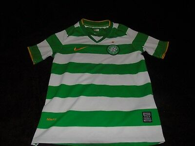 Celtic kids youths nike home football soccer shirt jersey top
