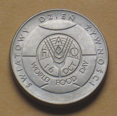 Coin Of Poland - World Food Day 1981