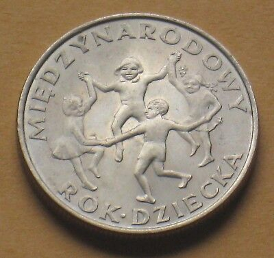 Coin Of Poland - International Year Of The Child