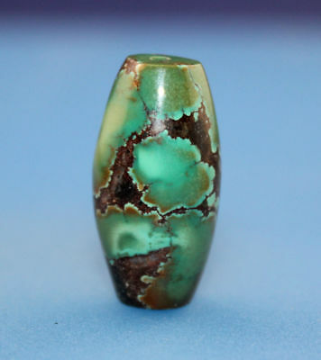 24*13 mm Antique Dzi turquoise old Bead from Tibet **Free shipping**