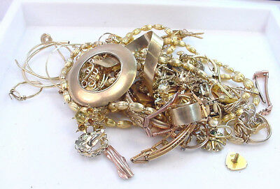 Gold Filled Scrap Lot For Gold Recovery 200 .0 Grams  No Reserve Very Clean Nice