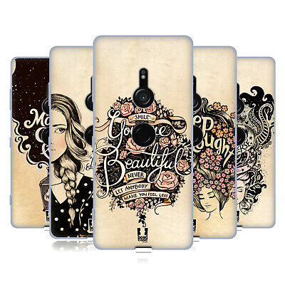Head Case Designs Introspection Soft Gel Case For Sony Phones 1