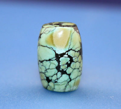 21*15 mm Antique Dzi turquoise old Bead from Tibet **Free shipping**