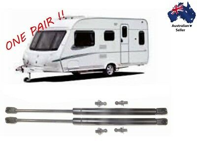 New Gas Struts x 2 Caravan hatch boot awning 195mm long x 125N Matches 3137RK