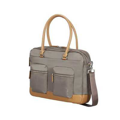 Samsonite Business Move Pro Bailhandle Laptoptasche 15,6 Zoll, Silver-Green, NEU