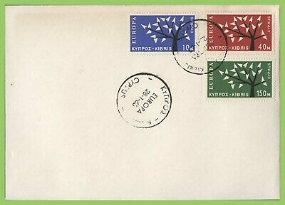 Cyprus 1963 Europa set on First Day Cover