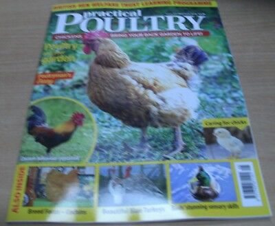 Practical Poultry magazine MAY/JUN '18 Chickens in your garden +caring for chick