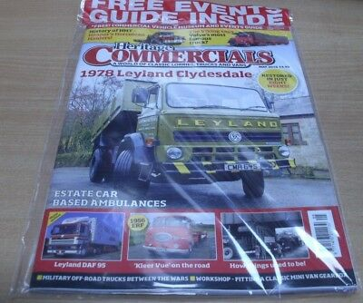 Heritage Commercials magazine May 2018 1978 Leyland Clydesdale Resto & more