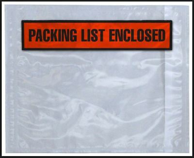 X Invoice Enclosed Front Invoice Enclosed Packing List - Invoice enclosed pouches