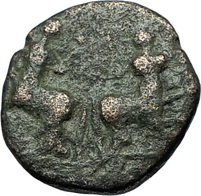 Thessalonica in Macedonia under Romans Ancient Greek Coin  JANUS CENTAURS i68838