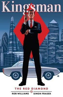 Kingsman Volume 2: The Red Diamond Softcover Graphic Novel