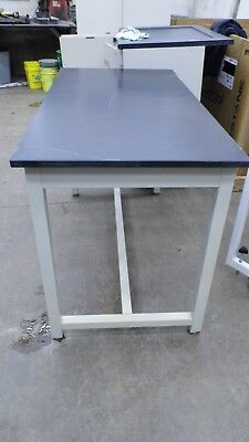 "30"" X 60"" X 37"" Tall Composite Top Laboratory Work Bench/table"