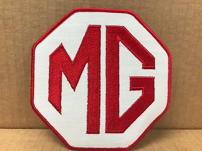 "Vintage Original 1970's Embroidered Mg Jacket Patch 5"" X 5"""