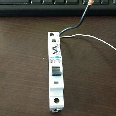 """HAGER 32 AMP RCBO - B32 - AD110 - 104275 - 30mA - 5"""" LEADS"""