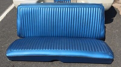 1970 1971 1972 Dart Scamp Duster Original B5 Blue Rear Seat Assembly
