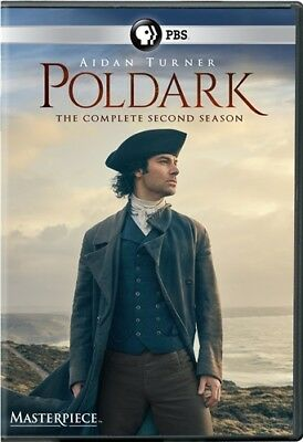 POLDARK COMPLETE SECOND SEASON 2 New Sealed 3 DVD Set 2015 TV Series Masterpiece