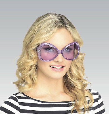 Purple 70's That's Hot Glasses Pop Rock Star Elton John Teen to Adult Size