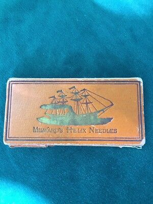 Victorian Millwards Helix Needles Sewing West End Needle Case