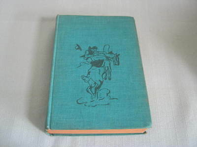 Vintage Book, The Iron Trail, Max Brand, 1941