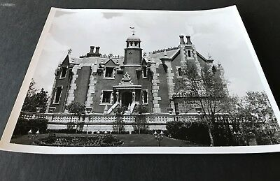 vintage rare WALT DISNEY WORLD HAUNTED MANSION publicity Press photo preopening