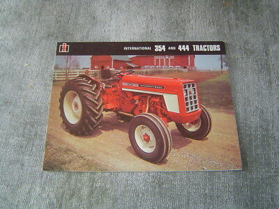 IH International 354 444 tractor brochure