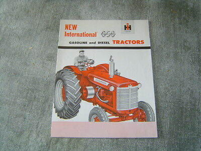 IH International Farmall 650 gasoline diesel tractor brochure