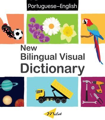 New Bilingual Visual Dictionary English-portuguese by Sedat Turhan (Hardback,...