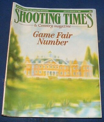 Shooting Times Magazine July 27-August 2 1989 - Game Fair Number