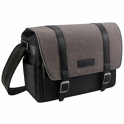 Mosiso Camera Bag Large Messenger Bag For Digital SLR/DSLR Cameras Canon Sony