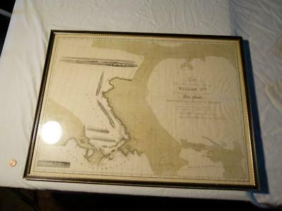 1834 Map Discoveries made in the ARCTIC REGIONS James Clark Ross Royal Navy RARE