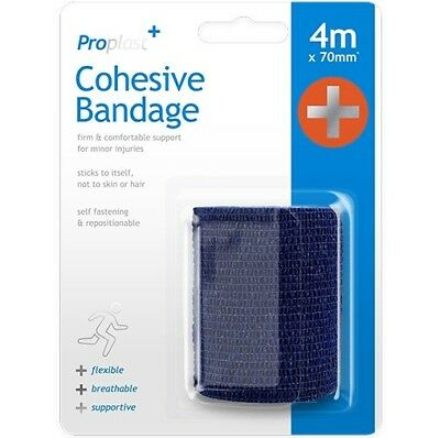 4m Veterinary or Human Cohesive Support Bandage First Aid Support Medical Wraps