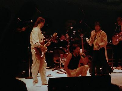 MONKEES  Original Real Photo 1989 July 30 New York Davy Peter Micky crouchin
