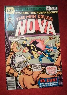 Man Called Nova #23 Dr Sun Diamondhead  Marvel 1979 FN P&P Discounts