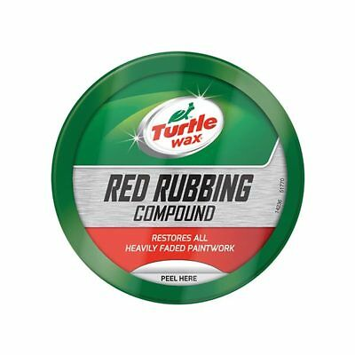 Turtle Wax 51770 Red Rubbing Compound 250g Abrasive Powder Car Care Cleaning